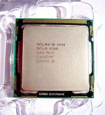 CPU Intel Xeon X3450 Quad-Core 2.66GHz LGA1156 Processor SLBLD FREE SHIP USA