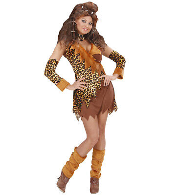 CAVEWOMAN  FANCY DRESS COSTUME WOMAN'S FEMALE - Cavewoman Fancy Dress Kostüm