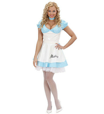 WIM 73481 Fasching Karneval Damen Kostüm Wunder Land Wonder Girl Woman Malice