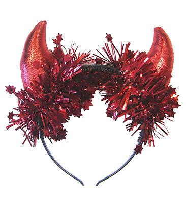 Widmann Teufelshörner rot Haarreifen Teufel Kostüm  Halloween  Karneval