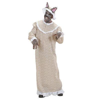 WIM 71671 Fasching Karneval Halloween Herren Kostüm Wolf böser Wolf Märchen Tier