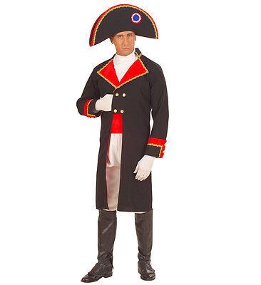 Herr Frankreich Kostüm (WIM 57881 Fasching Herren Kostüm Napoleon Held Kriegsherr Eroberer Frankreich)