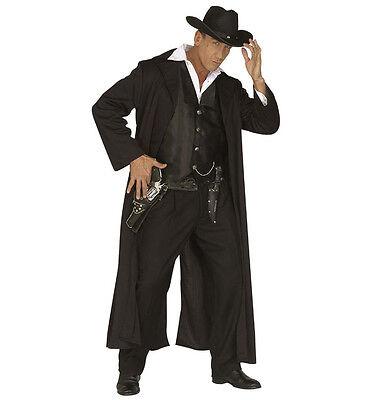 WIM 44471 Fasching Herren Kostüm Cowboy Bounty Killer Cow Boy Wild West (Western Boy Kostüm)