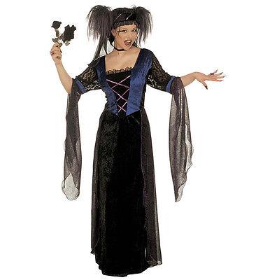 WIM 35121 Fasching Halloween Damen Kostüm Gothic Princess - Princess Halloween Kostüme