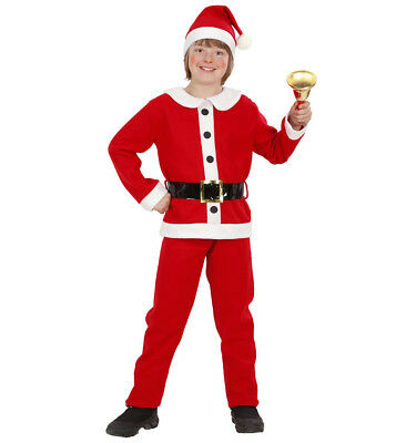 sack Hose Gürtel Hut Kostüm Set Junge  Größe 116 4-5 years (Santa Kostüm Jungen)