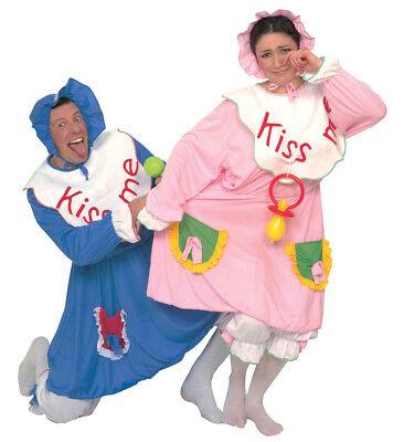 ANT 39241 Baby Kleinkind Spasskostüm JGA Erwachsene Karneval Unisex Kostüm Blau ()