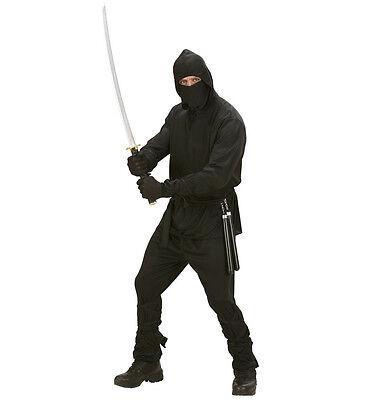 Krieger Halloween-kostüme (WIM 02771 Fasching Karneval Halloween Herren Kostüm Ninja Krieger Warrior Fight)