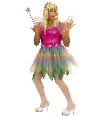 ANT 5705A Fee Elfe Pixie Fairy Travestie Drag Queen Karneval Herren Kostüm - Fairy Queen Kostüm