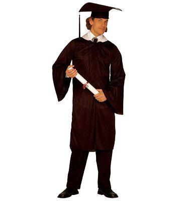 Absolvent Toga Cappello Abschluss Kostüm Graduate Verkleidung Größe L