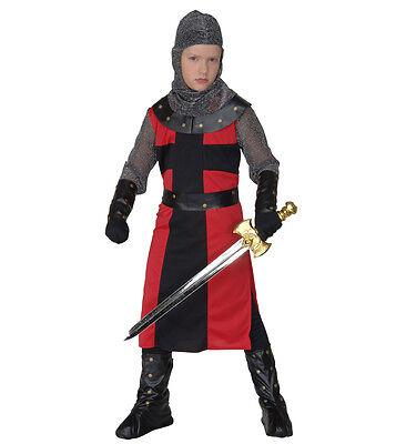WIM 55486 schwarzer Ritter Black Knight Kinder Fasching Karneval Jungen - Black Knight Kostüm