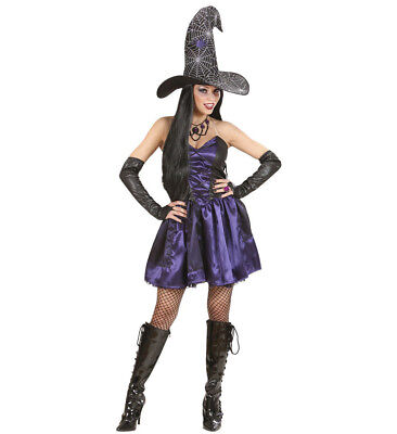 ANT 73732 Fasching Halloween Damen Kostüm Hexe Witch Zauberin Magic Magierin