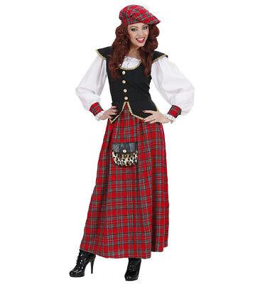 Kostüm Karneval Kleid Frau Schottisch Ps - Schottische Kostüme