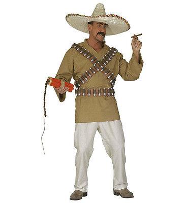 WIM 44661 Fasching Karneval Herren Kostüm Western Mexikaner Cowboy Wild -