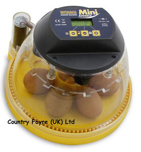 NEW Brinsea MINI ADVANCE 7 hen Egg Automatic INCUBATOR with Cooling Option