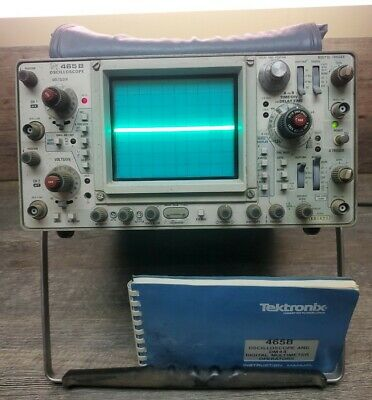 Tektronix 465b Analog Oscilloscope Broken Feet