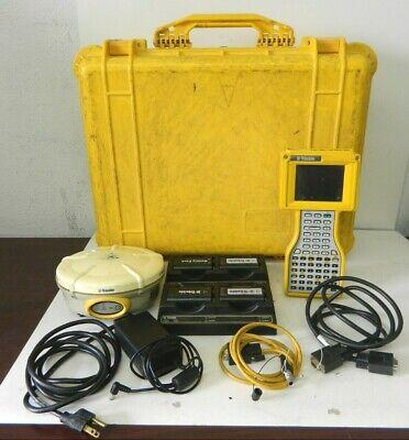 Trimble 5800 Gps Receiver Radio W Tsce Data Collector Survey Controller Case