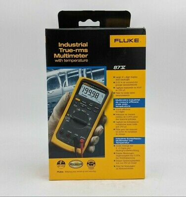 Open Box Fluke 87-v True Rms Digital Multimeter -sb2411