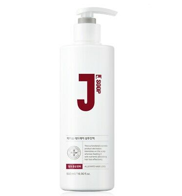 JSOOP Red J Shampoo 500ml Anti-Hair Loss, Reduces Redness Of The Scalp