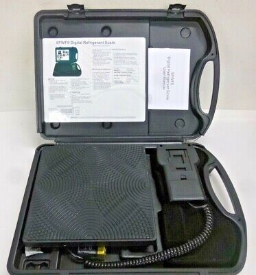 New Refrigerant Charging Or Recovery Scale 200 Max. Capacity Lb. 5pwf9