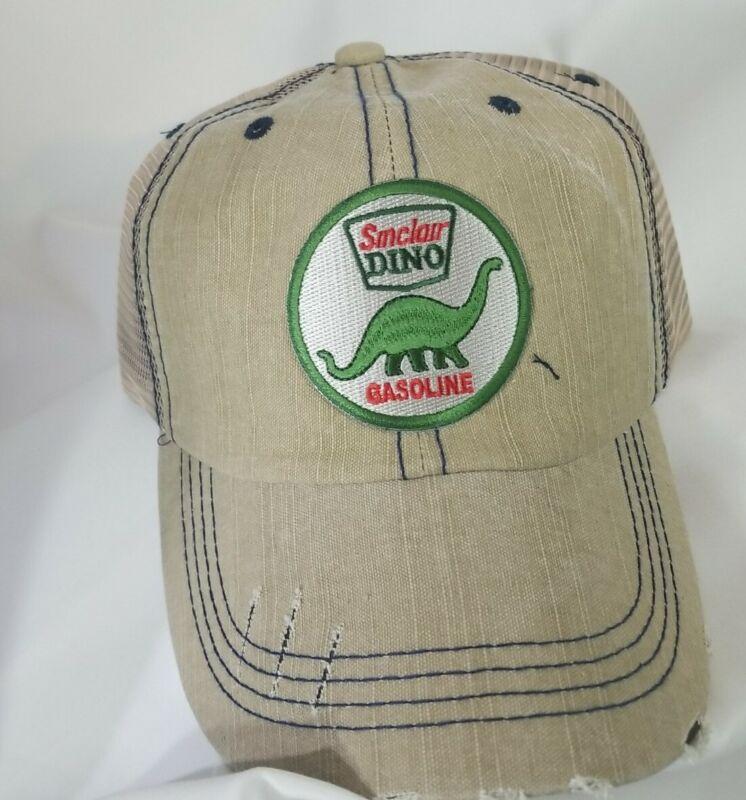 New Sinclair Dino Hat Cap Retro Gas