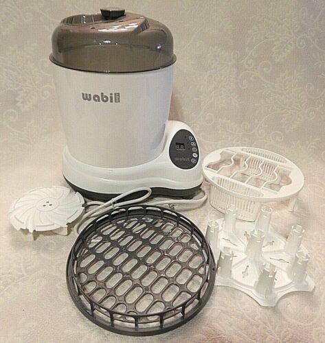Wabi Baby Steam Sanitizer Dryer Plus WA-8811N Bottle Cleaner Sterilizer Nipple