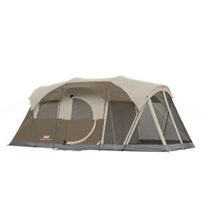 coleman weathermaster 6 person tent with screen house