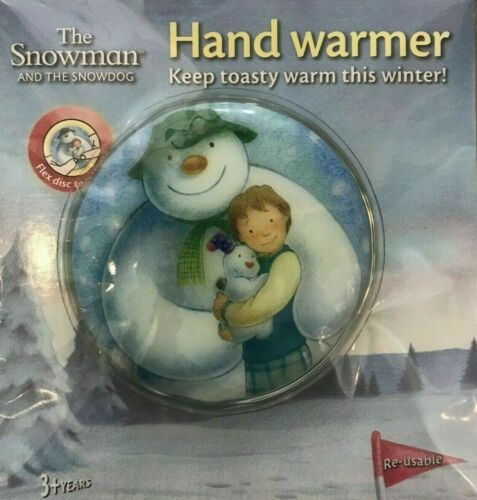The Snowman And The Snowdog Reusable Hand Pocket Warmer Age 3+