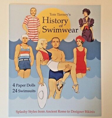 HISTORY OF SWIMWEAR Paper Dolls - a fun look at bathing costumes through history - History Of Costumes