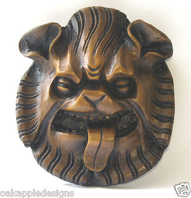 Lion Mask Wall Plaque Medieval Misericord Carving Gothic Cathedral church Gift