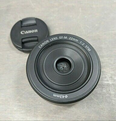 Canon EF-M 22mm f/2.0 STM Lens for EOS M, M2, M3, M5, M6, M10, M100,