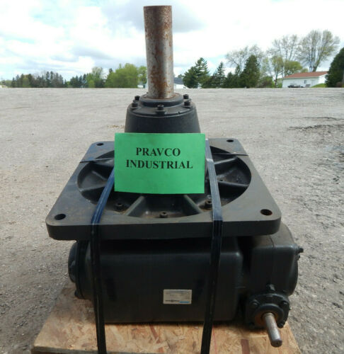 Morse PoweRgear Model 60DVX125R-LD Worm Gear Reducer Conveyor Drive Ratio 125