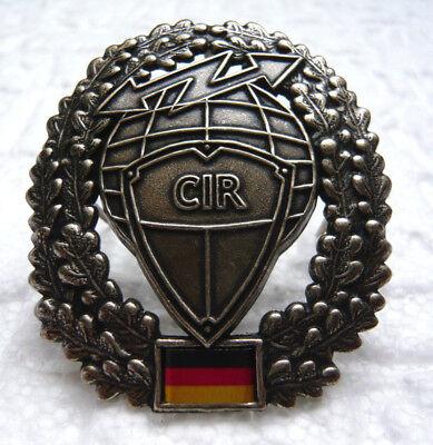 Bundeswehr Barettabzeichen CIR Cyber- Informationsraum Uniform Barett Abzeichen