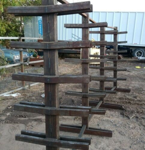 Cantilever Stock Rack – Double Sided Shop Made - Detachable holders