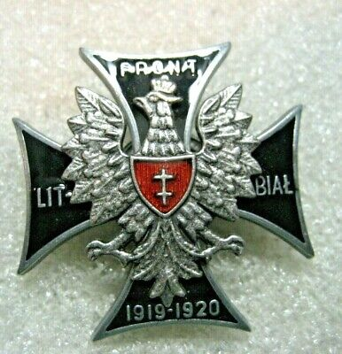 /Poland Polish Army 1st Lithuanian–Belarusian Division badge