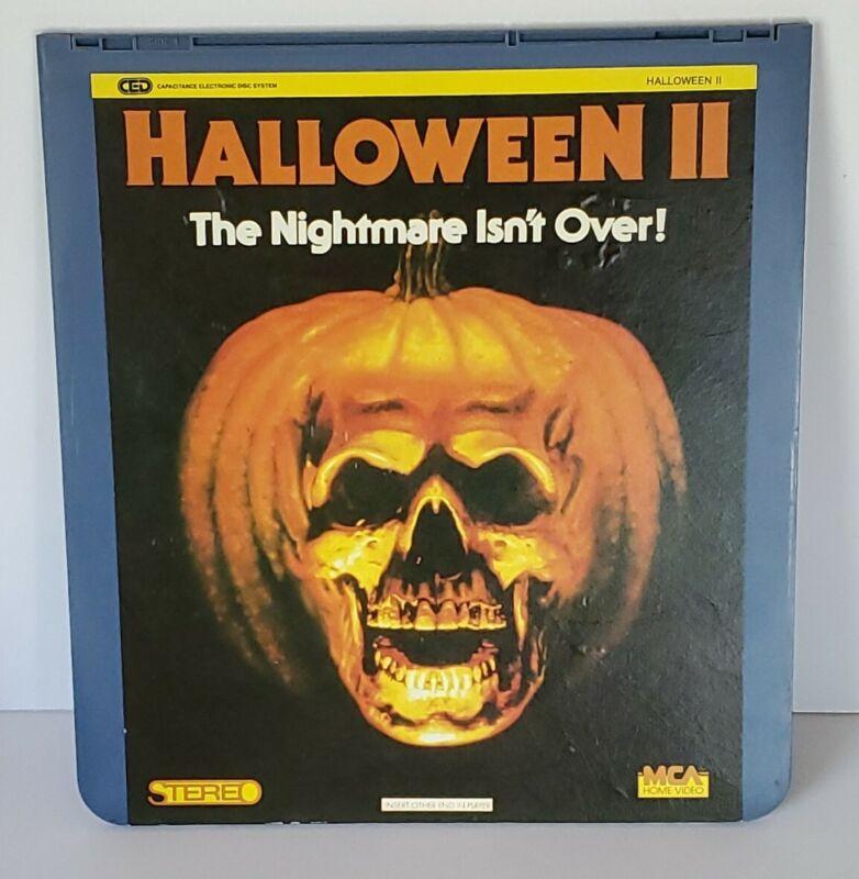 HALLOWEEN II  MCA Home Video Videodisc RARE