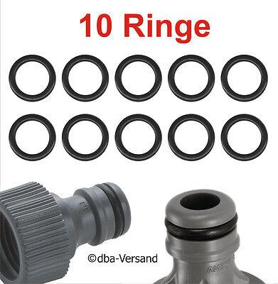 50 Stück Hochdruckreiniger O-Ringe Ersatzgummi Schwarz JRA