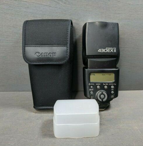 Canon Speedlite 430EX II Shoe Mount Flash Soft Case