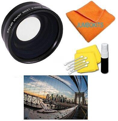 PRO WIDE ANGLE FISHEYE + MACRO FOR Sony Cyber-shot Digital Camera HX300 A200 HD4