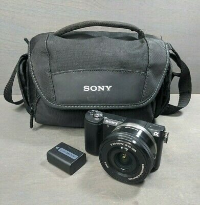 Sony Alpha A5000 20.1MP Digital Camera with 16-50mm Lens - 1K Clicks