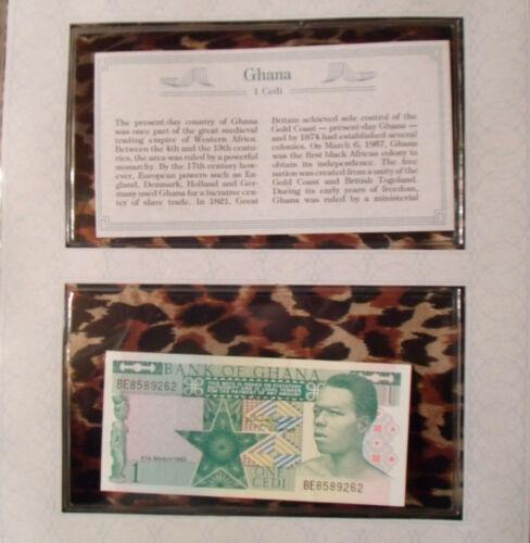 *Most Treasured Banknotes Ghana 1982 1 Cedi P17b UNC