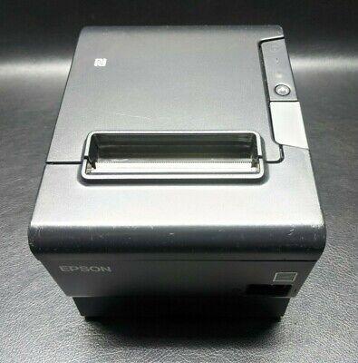 Epson Tm-t88vi Thermal Pos Receipt Printer Ethernet Usb Point Of Sale