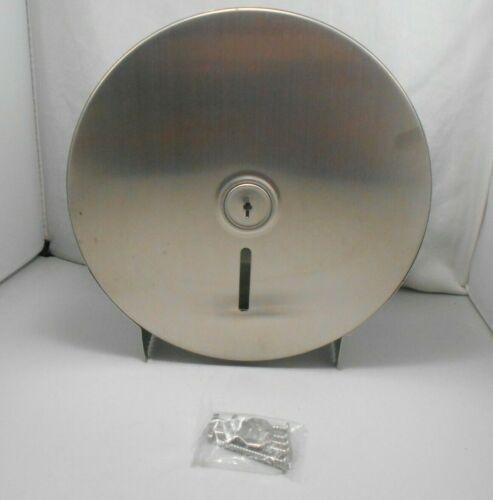 Commercial Stainless Steel Tamper Proof Locking Toilet Roll Dispenser JR-31-SS