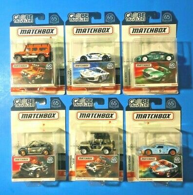 MATCHBOX GLOBE TRAVELERS 6 CAR SET