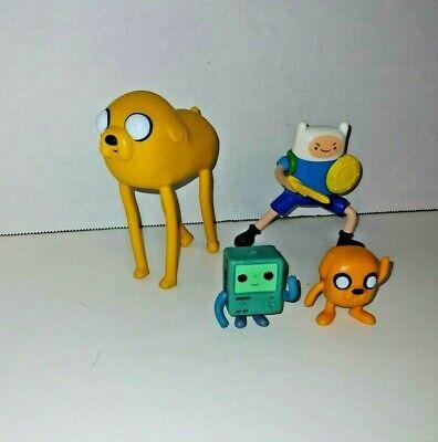 Adventure Time Finn BMO Jake figure 4 pc lot 2 are McDonald's figures