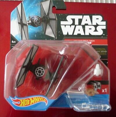 STAR WARS HOT WHEELS DISNEY TIE FIGHTER FIRST ORDER SPEC FORCES NEW SEALED PACK