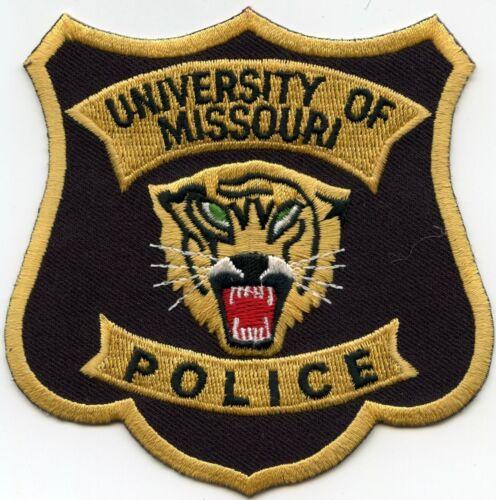 UNIVERSITY OF MISSOURI MO CAMPUS POLICE PATCH