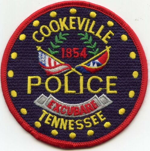 COOKEVILLE TENNESSEE TN POLICE PATCH