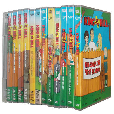King of the Hill :The Complete Series Seasons 1-13 (DVD 37-Disc Box Set) New F&S