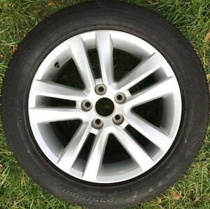 """1x Ford Falcon FG G6 turbo alloy rim wheel 17inch 17"""" wheel Epping Whittlesea Area Preview"""