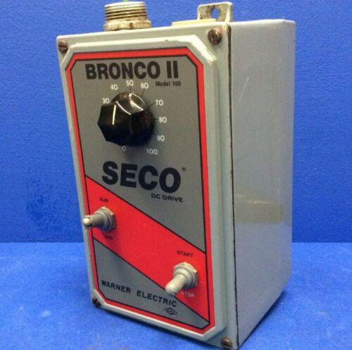SECO DC DRIVE BRONCO II MODEL 160